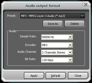 best way to convert ape to mp3