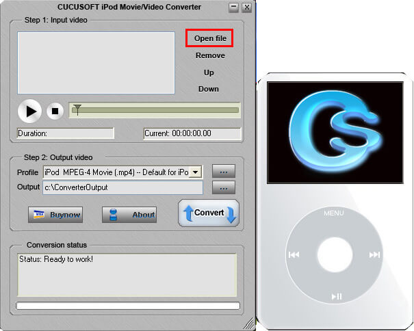 how to find audio files ipod