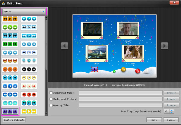 dvd menu templates after effects - how to burn dvd and edit dvd menu on windows