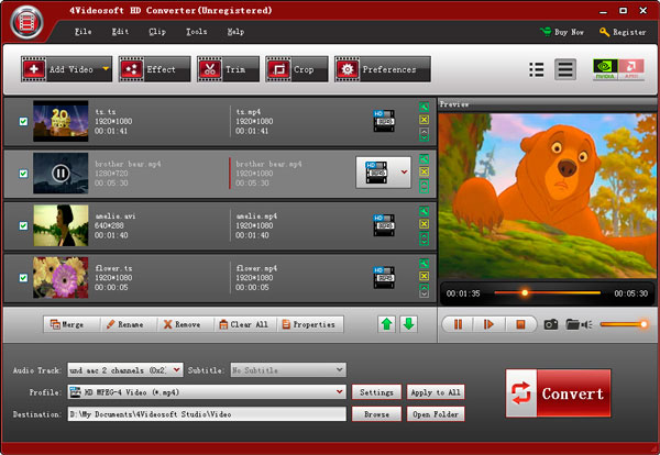 4videosoft Hd video converter