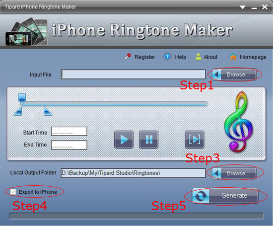 how to use downloaded music as ringtone iphone 6