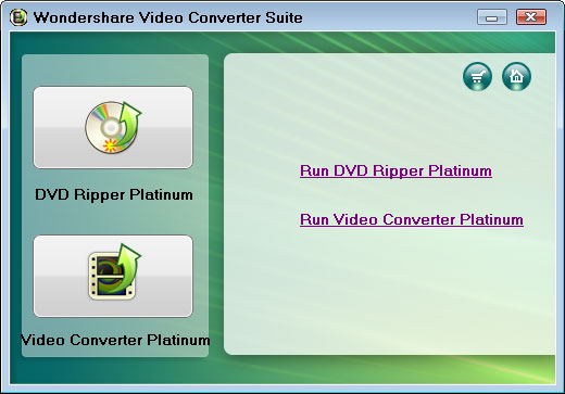 Wondershare Video Converter Suite - Rip DVD and convert video to iPad, iPod, iPhone, PSP, Xbox
