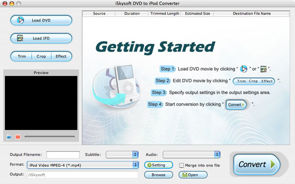 mac dvd to ipod converter