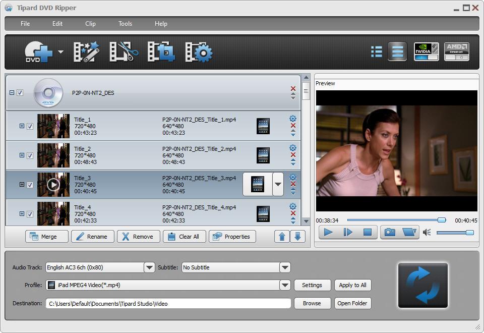 Tipard DVD Ripper - best Windows DVD Ripper to rip DVD