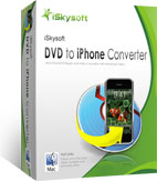 box of iskysoft dvd to iphone converter for mac