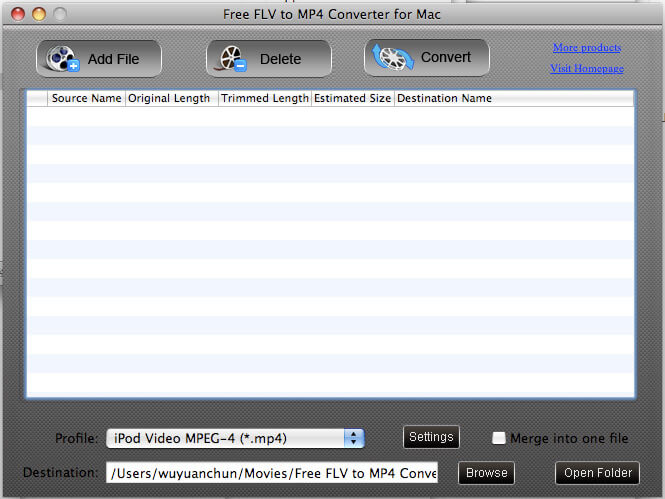 Converter mov to mp4 mac free