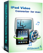box of 4videosoft ipad video converter for mac