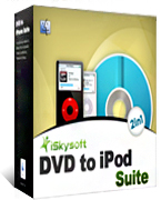 box of iskysoft dvd to ipod suite for mac