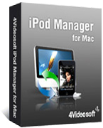 box of 4videosoft iPod Manager for mac