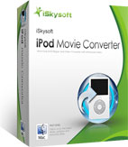 box of iskysoft ipod movie converter for mac