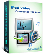 box of 4videosoft ipod video converter for mac