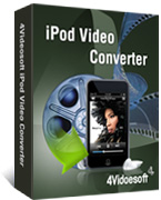 box of 4videosoft ipod video converter