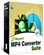 box of iskysoft mp4 converter suite for mac