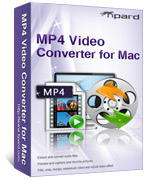 box of tipard mp4 video converter for mac