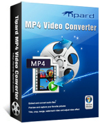 box of tipard mp4 video converter
