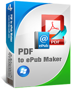 box of 4Videosoft PDF to ePub Maker