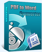 box of PDF to Word Converter
