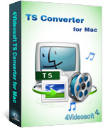 box of 4videosoft TS Converter for Mac