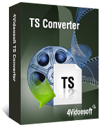 box of 4videosoft ts converter