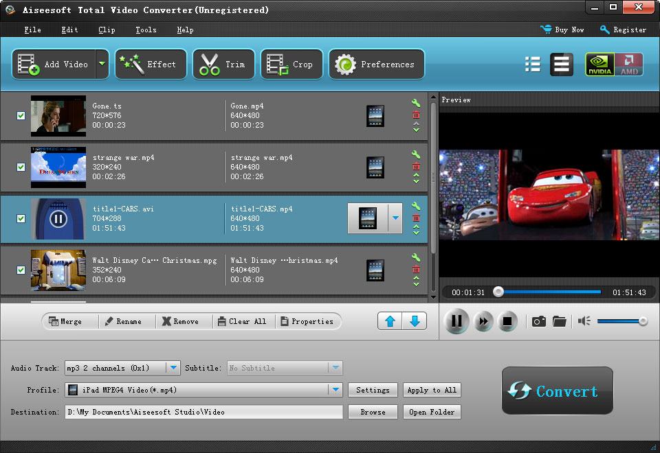 Aiseesoft total video converter convert wmv to avi mkv to avi aiseesoft total video converter ccuart Choice Image