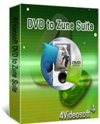 box of 4videosoft dvd to zune suite