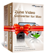 box of tipard zune converter suite for mac
